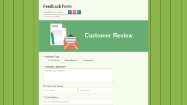 Non Profit Templates Other Feedback Form